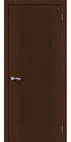 Межкомнатная дверь шпонированная Рондо ПГ Ф-27 (Венге)