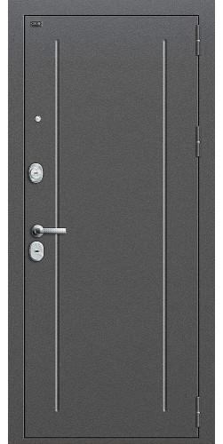 Входная дверь T2-220 Антик Серебро/Cappuccino Veralinga