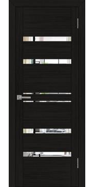 Дверь UniLine 30030 Зеркало шоко велюр