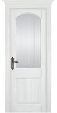 Дверь Осло ПО белая эмаль
