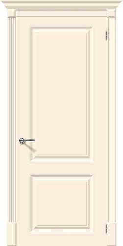 Межкомнатная дверь окрашенная Скинни-12 Cream