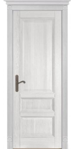 Межкомнатная дверь из массива Аристократ №1 ПГ белый