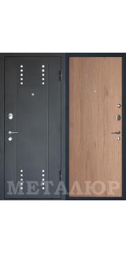 Входная дверь МеталЮр М26 светлый салинас
