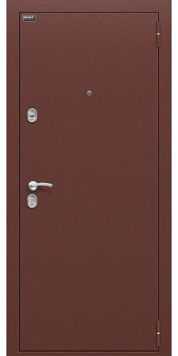 Входная дверь Старт Антик Медь/П-8 (Янтарный Дуб)