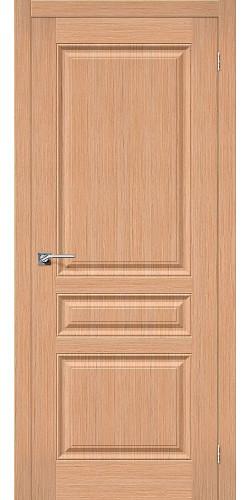 Дверь шпонированная глухая Статус-14 цвет Ф-01 (Дуб)