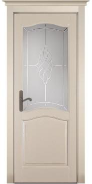 Дверь Лео Браш ПО крем эмаль