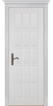 Дверь Лондон 2 ПГ белая эмаль