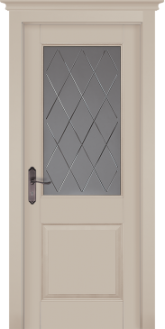 Дверь Элегия Крем ПО (эмаль)