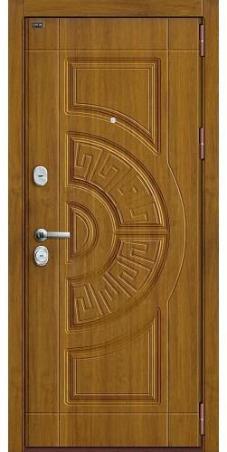 Входная дверь Р3-302 П-4 (Золотой Дуб)/П-4 (Золотой Дуб)