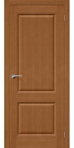 Дверь шпонированная глухая Статус-12 цвет Ф-11 (Орех)