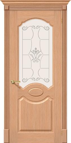 Межкомнатная дверь шпонированная Селена Ф-01 (Дуб)