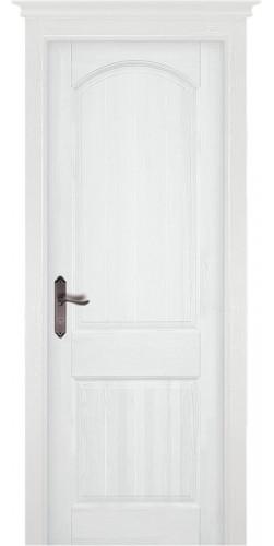 Дверь Осло ПГ белая эмаль