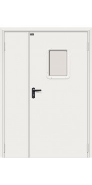 Дверь противопожарная ДПО-1,5  Серый