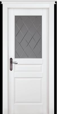 Дверь Валенсия ПО белая эмаль