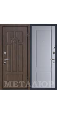 Входная дверь МеталЮр М12 манхэттен