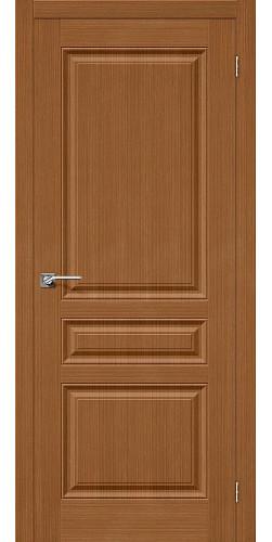 Дверь шпонированная глухая Статус-14 цвет Ф-11 (Орех)