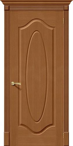 Дверь шпонированная глухая Аура ПГ Ф-11 (Орех)