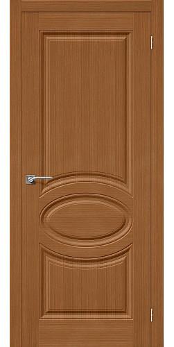 Дверь шпонированная глухая Статус-20 цвет Ф-11 (Орех)