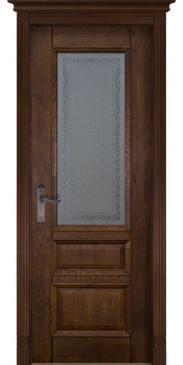 Дверь Аристократ №2 ПО античный орех