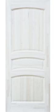 Дверь межкомнатная из массива сосны М 16 ДГ под окраску без стекла