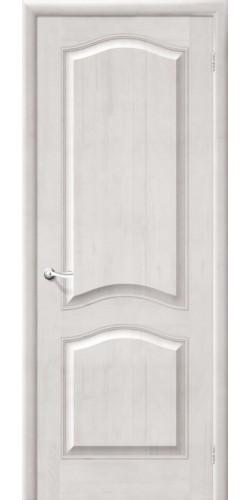 Межкомнатная дверь из массива М7 ПГ белый воск