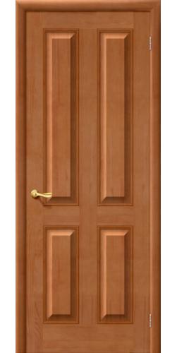 Дверь из массива М15 глухая цвет светлый лак тон 30