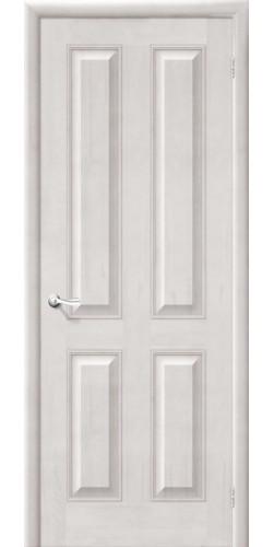 Дверь из массива М15 глухая цвет белый воск