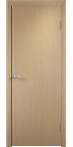 Дверь межкомнатная глухая Гладкая цвет беленый дуб