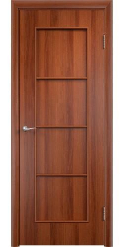 Межкомнатная дверь ламинированная Верона ПГ итальянский орех