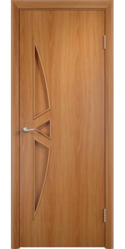 Межкомнатная дверь ламинированная Соната ПГ миланский орех