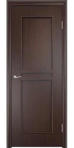 Межкомнатная дверь ламинированная Сильвия ПГ венге