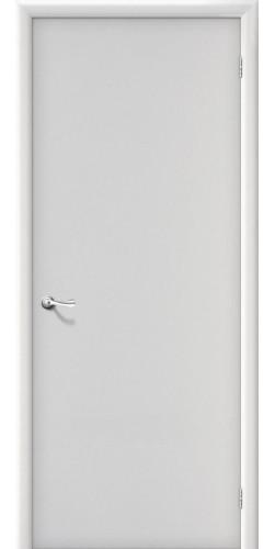 Дверь межкомнатная глухая Гладкая цвет белый