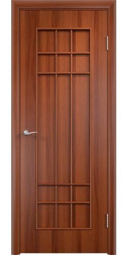 Межкомнатная дверь ламинированная Премиум ПГ итальянский орех
