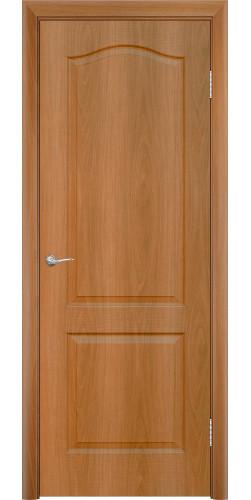 Дверь межкомнатная глухая Палитра цвет миланский орех