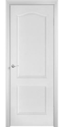 Дверь межкомнатная глухая Палитра цвет белый
