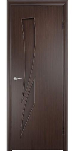 Межкомнатная дверь ламинированная Стрелиция ПГ венге