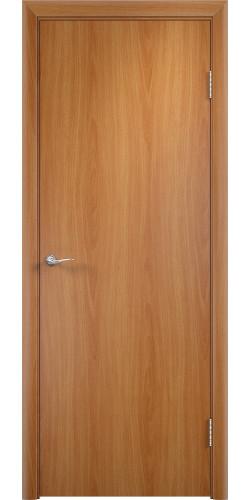 Дверь межкомнатная глухая Гладкая цвет миланский орех