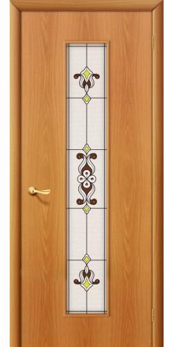 Межкомнатная дверь со стеклом 23х миланский орех