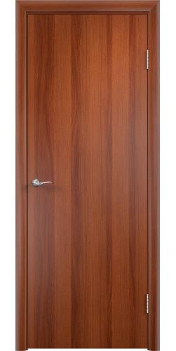 Межкомнатная дверь ламинированная Гладкая ПГ итальянский орех