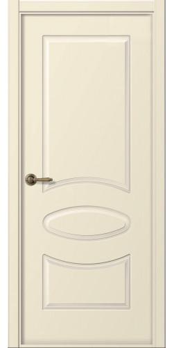 Дверь межкомнатная эмаль глухая Элина цвет слоновая кость