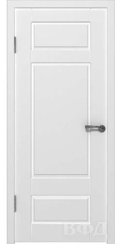 Межкомнатная дверь окрашенная Барселона ПГ белый