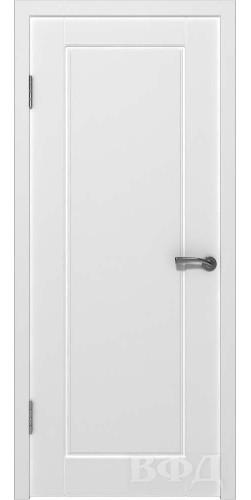 Дверь межкомнатная эмаль Порта глухая цвет белый