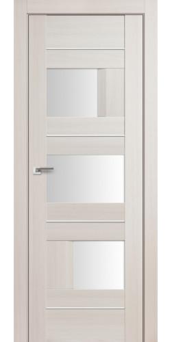 Дверь межкомнатная экошпон со стеклом 39Х цвет эш вайт мелинга