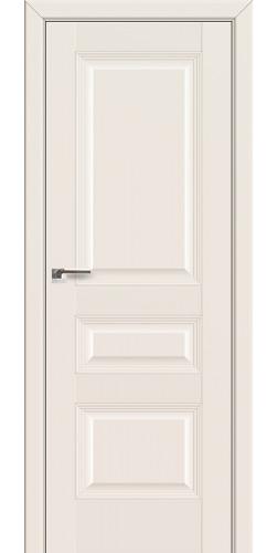 Дверь межкомнатная экошпон глухая 66U цвет магнолия сатинат