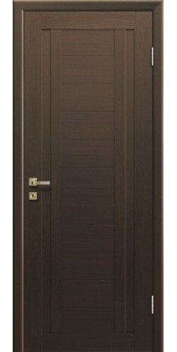 Дверь межкомнатная экошпон глухая 14Х цвет малага черри