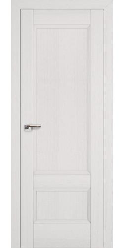 Дверь межкомнатная экошпон глухая 105Х цвет пекан белый