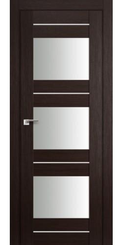 Дверь межкомнатная экошпон со стеклом 41Х цвет венге мелинга