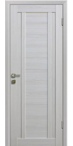 Дверь межкомнатная экошпон глухая 14Х цвет Эшвайт мелинга