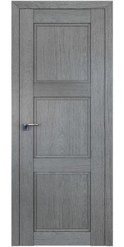 Дверь межкомнатная экошпон глухая 2.26XN цвет грувд серый