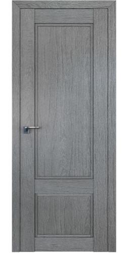Дверь межкомнатная экошпон глухая 2.30XN цвет грувд серый